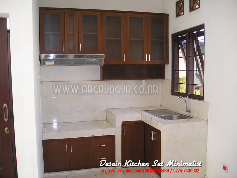 Desain dapur minimalis modern download file arsitek for Harga kitchen set sederhana