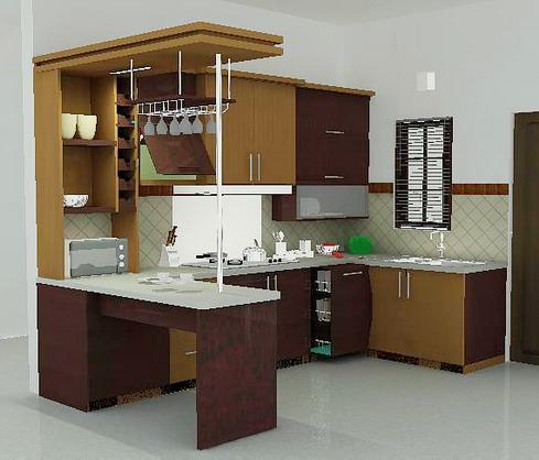 Desain dapur minimalis modern download file arsitek for Kitchen set yang baik